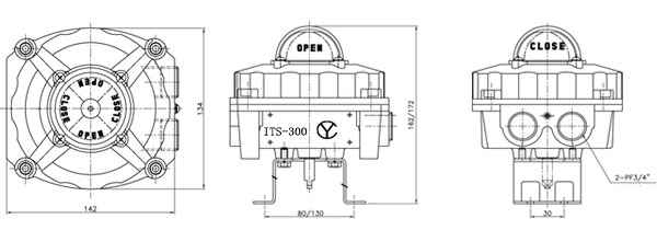 ITS-300外形尺寸