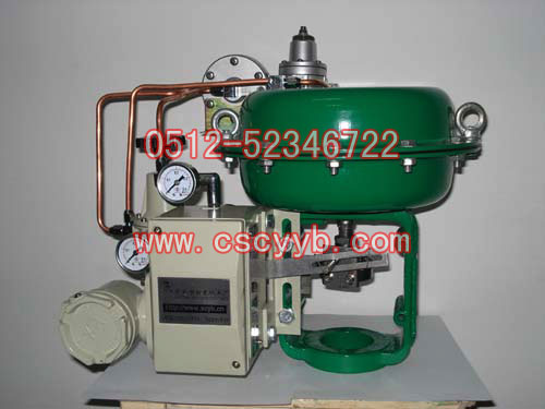 气动薄膜调节阀配HEP电气阀门定位器